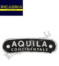 2949 - TARGHETTA SELLA SELLONE AQUILA CONTINENTALE VESPA 125 150 200 PX