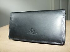 Rowallan black genuine leather purse wallet