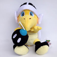 "Super Mario Bros Bomb Bro. Koopa Troopa Turtle Soft Plush Toy Stuffed Animal 8"""