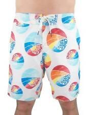 ORIGINAL O'Neill Boardshort Shorts de baño W32 Baller Blanco Blau Rojo Bolsos