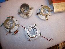 4 x Johnson 210 tube sockets Ham radio 4 pin