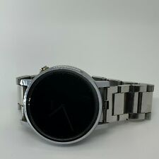 Motorola Moto 360 2nd Gen Mens 46mm Silver Metal Link Smartwatch - READ