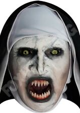 The Nun - Scary Halloween CARDBOARD Face Mask - Celebrity Fun Horror PAPER Mask