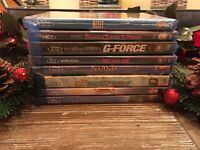 Disney Blu-Ray + DVD Lot Of 8. Brand new!!
