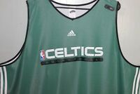 Boston Celtics  Adidas Practice Top Reversible Green NBA Fusion