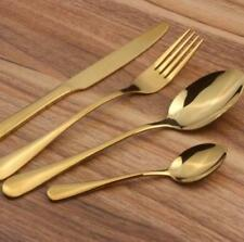 4 /8/16/32 Pcs Rainbow  Iridescent Unicorn Stainless Steel cutlery set spoon New
