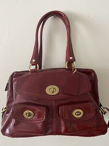 Coach Legacy 13051 Red Patent Peyton  Limited Edition RETAIL $800