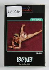 Legend 1/35 Beach Queen Girl Laying outside Sun Tanning [Resin Figure] LF0096