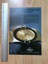 Omega Constellation Quartz 1983 Advertisement Pub Ad Werbung