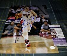 Lindsay Whalen WNBA Champion (Lynx) Signed Olympic 11x14 in person . JSA CERT