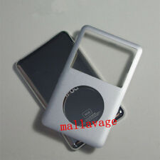 Silver iPod classic 6th 80GB Thin Metal back cover + front case replacement kit