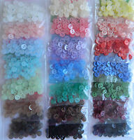 50 x 6mm Tiny Dolly Buttons for sewing toymaking card making crafts & scrapbooks