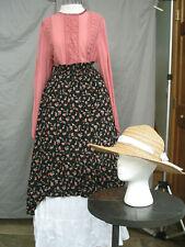 Victorian Dress Women's Edwardian Costume Civil War Old West Prairie Western