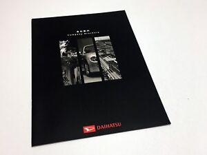2002 Daihatsu 660cc•1000cc Series Full Line Brochure - Japanese Domestic Market