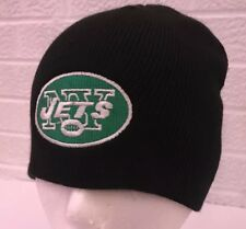 NFL New York Jets Football Knit Beanie Cap Hat One Size Fits All Adult Unisex