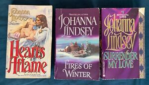 Johanna Lindsey Haardard Secondhand used books historical romantic fiction
