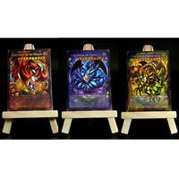 Yugioh ORICA 3x-Set: Toon God Cards (HOLO) Full-Art | Ra Obelisk Götterkarten