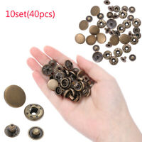 Scrapbooking Sewing Accessories Press Button Snap Buttons Fasteners  Round