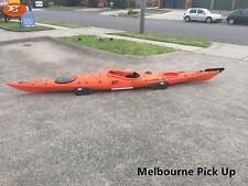 Jetocean Sit-in Turing Kayak 5.02M with Paddle and Rudder Orange Melbourne