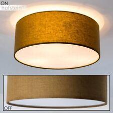 Plafonnier Design Rond Lustre Lampe à suspension Lampe de corridor Marron 155629