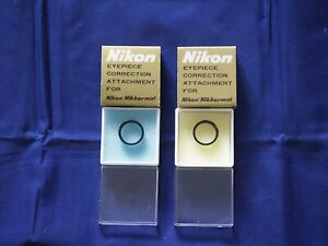 Nikon Eyepiece Correction Lens +0.5 for Nikon/Nikkormat + extra correcting items
