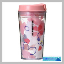 F/S Starbucks JAPAN plastic tumbler 2018 SAKURA Cherry blossom clear 355ml