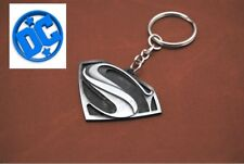 DC Comics SUPERMAN VS BATMAN S Shield Logo Movie Key chain man of steel cosplay