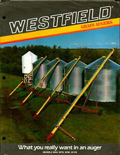 Vintage brochure Farm Machinery Westfield Grain Augers