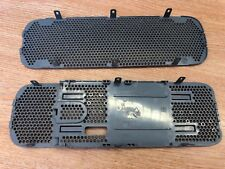 XBOX 360 OFFICIAL OUTER CASE SHELL REPLACEMENT TOP AND BOTTOM GRILLS GREY