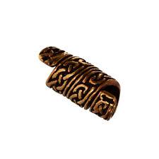 Haarschmuck Bartperle RIGANI Keltischer Knoten Bronze Lockenperle 6408