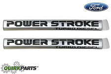 2017 Ford F250 F350 F450 F-550 SuperDuty Power Stroke Turbo Diesel Emblems Set