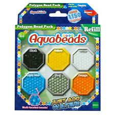 Aquabeads POLYGON BEAD PACK Refill Pack (Over 1150 Beads!) - Just Add Water!
