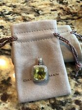 David Yurman Lemon Citrine And Diamond Albion Enhancer 14 x 14 $1550