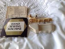 Vintage Loring Plastic Hand Held Sewing Machine with Instructions