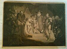 James Northcote Rare Original 18thC Engraving Shakespeare Richard III 1787