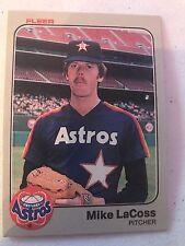 1983 Fleer Mike Lacoss Houston Astros 455