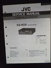 Original Service Manual JVC ks-rg9