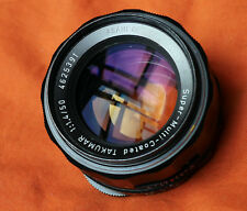 Asahi Pentax SMC Takumar 1:1.4 / 50mm lens M42 – excellent