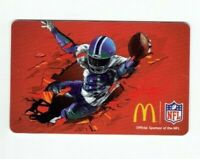 McDonalds Gift Card NFL Football - 2013 - No Value - I Combine Shipping