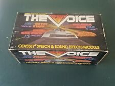 Odyssey 2 The Voice Speech And Sound Effects Module Magnavox 1980s In Box