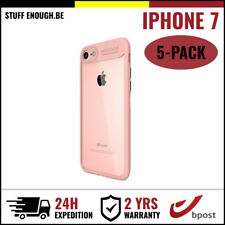 5IN1 Focus Armor Cover Cas Coque Etui Silicone Hoesje Case For iPhone 7 Pink