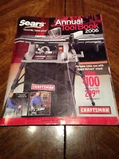 2006 Years Annual Toolbook Catalog Sears Craftsman