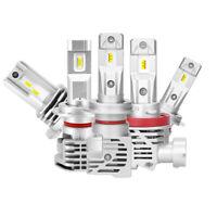 2X H4 H7 H11 9005 9006 LED Headlight Bulbs Conversion Kit Hi/Lo Beam Lamps 6000K