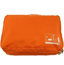 Flight 001 SPACEPAK Toiletry, Orange Travel Accessory Outdoor Packing System