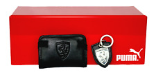 PUMA PMMO3020BLK FERRARI LS PACKAGE Black Leather Synthetic Wallet