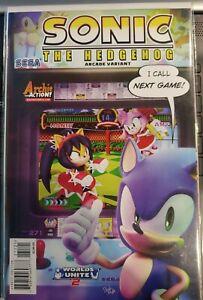 Sonic The Hedgehog #271 Cvr B Arcade Variant Comic Sega 1st Print 2015 VF/NM