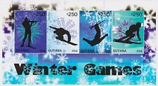 Guyana - Olympics, Winter Games, 2014 - 1407 Sheetlet of 4 MNH