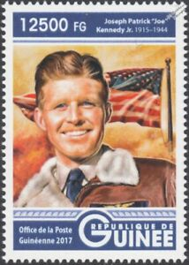 "JFK Brother: JOSEPH P. ""Joe"" KENNEDY Jr. WWII US Navy Pilot Hero Stamp (2017)"