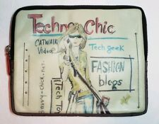 NWT BRIGHTON FASHIONISTA COLLECTION TECHNO CHIC STUDDED IPAD/TECH CASE POUCH BAG