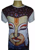 New Men Shirt short sleeve cotton Mediation Chakra Yoga India Buddha Om M Sure